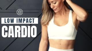 Heather Robertson - Low Impact High Intensity Cardio Workout // No Jumping | Низкоударная кардио-тренировка без прыжков и без инвентаря