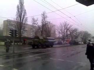 Одесса Передвижение укроповской С 300 по Академика Глушко в сторону Приднестровья 24 02 2015