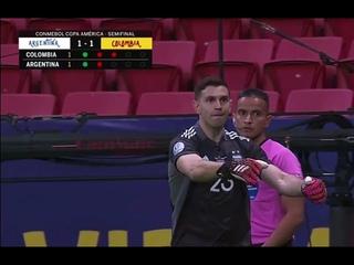Argentina Keeper ( Emiliano Martinez ) Hump celebration vs Colombia!!!!!!!!!!!!!!!!