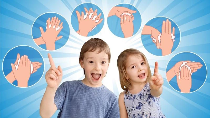 Plauname rankas Rankų plovimo instrukcija vaikams Kaip teisingai plauti rankas Rankyčių dainelė
