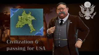 Civilization 5 passing for USA