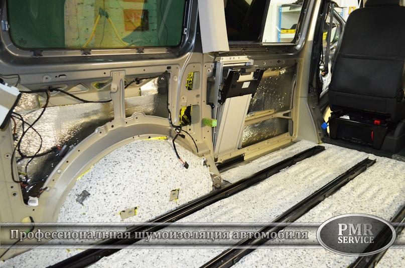Шумоизоляция Volkswagen Multivan, изображение №19