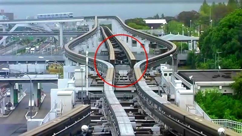 日本鐵路超驚人的換軌設計!看完這個影片後大開眼界了