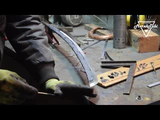 [Marek Tabi] Making Katana from Scraps