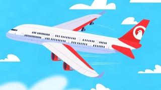 Катя и Эф. Куда-угодно-дверь - Школа полетов  - обучающий мультфильм для детей