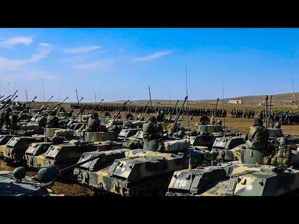 Тактическое учение 7 гвардейской ДШД на полигоне Опук в Крыму