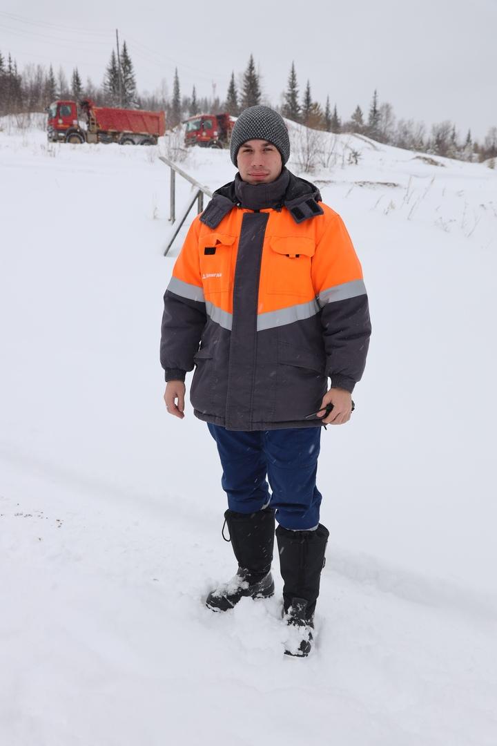 Участковый геолог Максим Хафизулин.