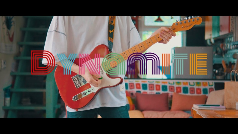 BTS 「Dynamite」 Guitar Cover