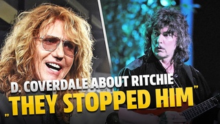 """David Coverdale About Ritchie Blackmore """"Deep Purple Stopped Him From Getting Honored"""""""