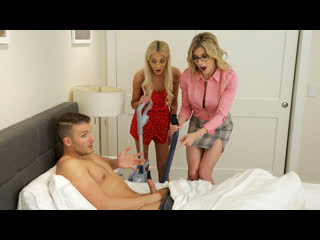 [MomsTeachSex] Cory Chase, Tallie Lorain - Mom His Dick Is Stuck In A Vacuum Cleaner NewPorn2020