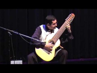 Ten String Guitar Festival 08' Marcos Puña  plays Caprice 24 by Niccolo Paganini