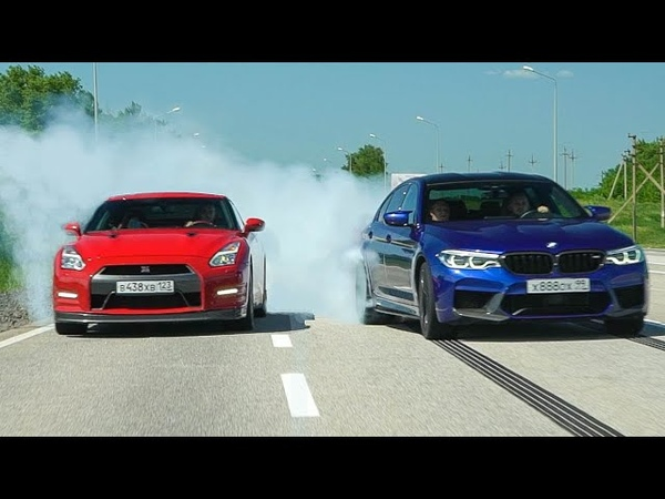ЧТО ЭТО БЫЛО BMW M5 800 лс и NISSAN GT-R 700 лс СРАЖАЛИСЬ ДО КОНЦА!