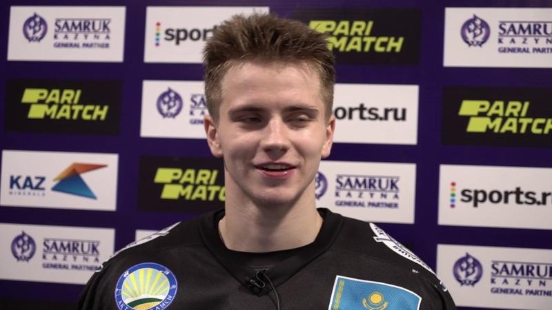 Иван Зинченко после матча Снежные Барсы Актобе 18 11 2020