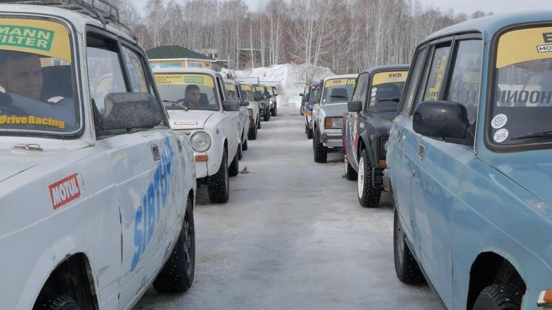 Дрифт на озере Калды с командой ShedSkills ULD Уральская Лига Дрифта