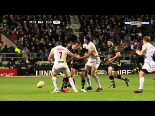 Harlequins v Exeter (Aviva Premiership Rugby 2013-2014)