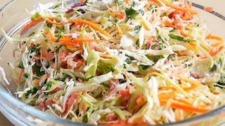 Готова есть этот САЛАТ Каждый День! До чего же он простой, но вкусный! Салат за 10 минут!