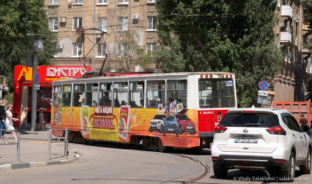 Трамвай в Саратове, 2020