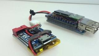 HID USB-Bluetooth-Adapter: USB-Host 2.0 - Arduino Mini - HC05/HC06 as RN42 for mouse & keyboard -DIY