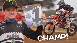 DANGERBOY WINS LAST RACE OF THE YEAR!!! 2020 Mini O's Motocross