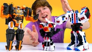 Тоботы Детективы Галактики: роботы трансформеры наводят порядок! Шоу про игры Hey, Toys!