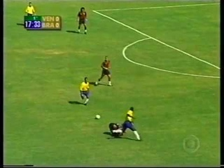 Venezuela vs Brasil 2000 - Eliminatorias - Partido completo - Portugués audio