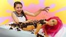 Видео с куклами Барби. Как похудеть Кукла Тереза в Салоне красоты! Игры в куклы для девочек
