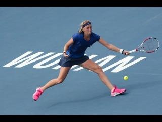 2014 Wuhan 1/2 Petra Kvitova vs Elina Svitolina Highlights HD
