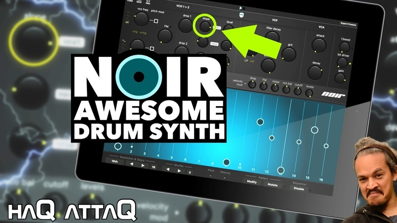 Ruismaker NOIR │ Absolutely AWESOME Drum Synth App haQ attaQ 305