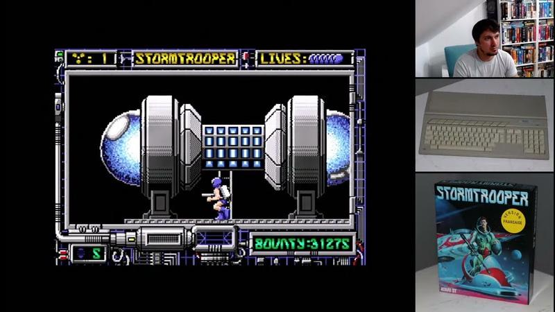 Stormtrooper для Atari ST Полное Прохождение Stream 2