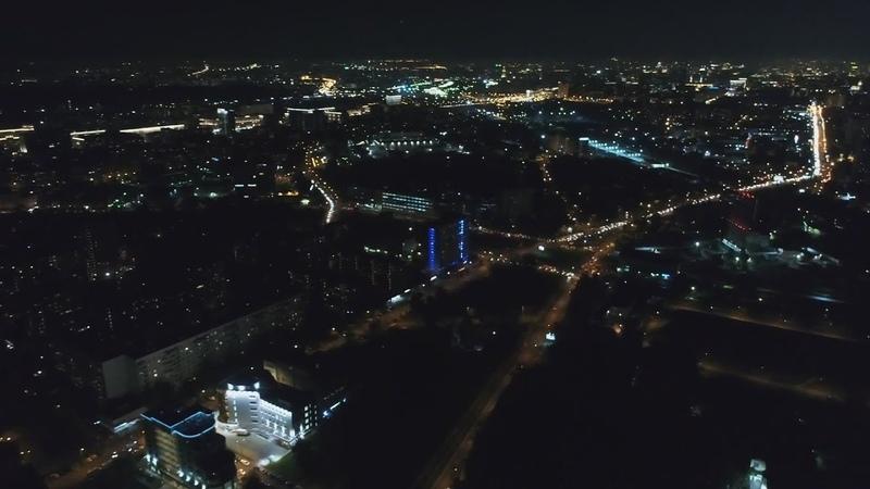 Москва вечером Базовая улица ночью под утро в Москве Базовская улица днём