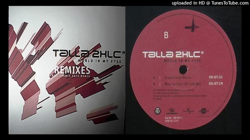 Talla 2XLC World In My Eyes Marc La Cruz UK Club Mix
