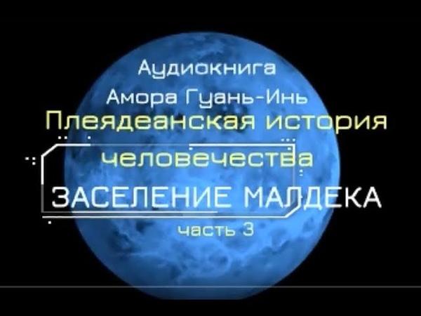 Плеядеанская история человечества Заселение МАЛДЕКА Амора Гуань Инь Ч 3