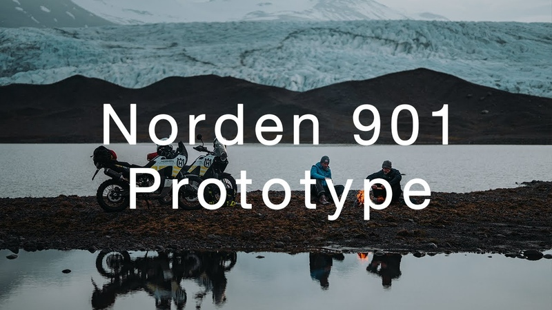 Norden 901 Prototype Exploring Iceland Husqvarna Motorcycles