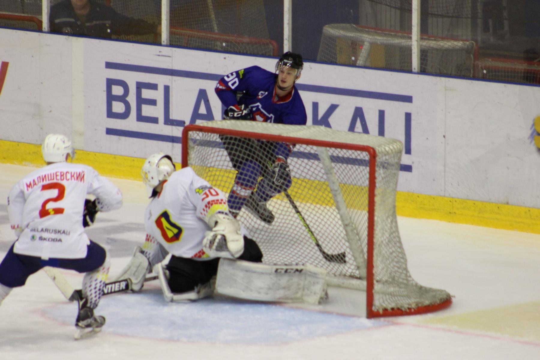 Хоккейный клуб «Лида» провел товарищеский матч.