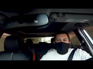 [БОМЖСФ / Made by Edward] Работа в Убер такси (Uber) Сан Франциско, США во время Пандемии / Ремонт шины в Сервисе