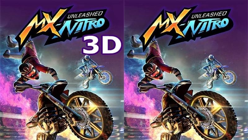 MX Nitro 3D SBS VR box google cardboard video