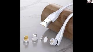 #Магнитное #зарядное #устройство #CANDYEIC #для #iPhone, #магнитный #USB-#кабель #для #Samsung