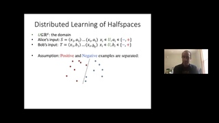 Convex Set Disjointness, Distributed Learning of Halfspaces, and Linear Programming - Shay Moran