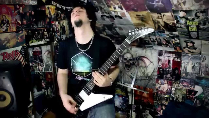 Guile's Theme Street Fighter II Guitar Cover