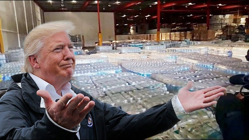 Trump Was Right Federal Government Disaster Aid Found Untouched In Puerto Rican Warehouses