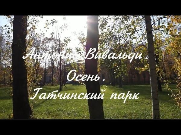 Антонио Вивальди.Осень.Гатчинский парк.ANTONIO VIVALDI-L'Autunno