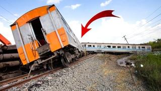 Top 10 Extreme Dangerous Trains Crashing & Train Snow Plowing Compilation !