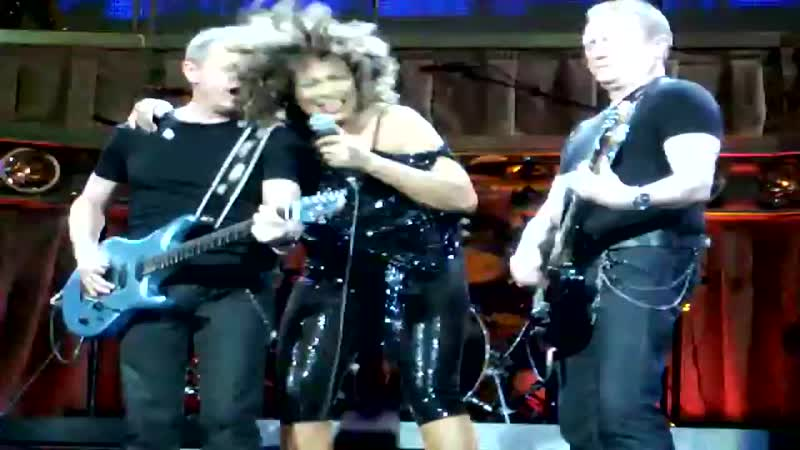TINA TURNER LAST PUBLIC PERFOMANCE - BETTER BE GOOD TO ME Live (71)