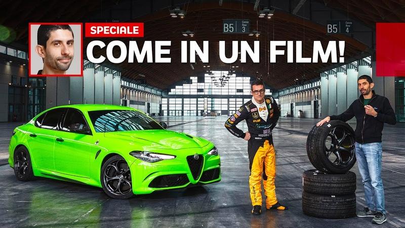 Abbiamo guidato l'Alfa Romeo Giulia di 6 Underground... fuori dal film Netflix!