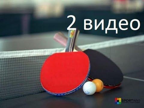Домашняя тренировка РАЗМИНКА Настольный теннис 2 видео
