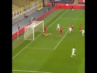Голы сборной в ворота Турции