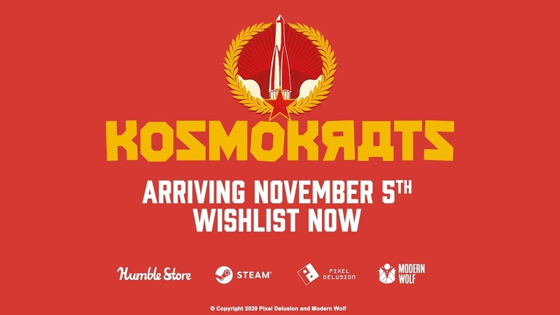 KOSMOKRATS ft BILL NIGHY LAUNCHES NOVEMBER 5TH ON STEAM