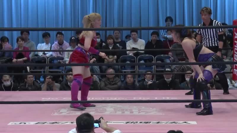 BAKURETSU Sisters Nodoka Tenma Yuki Aino vs Yuki Kamifuku Yuna Manase