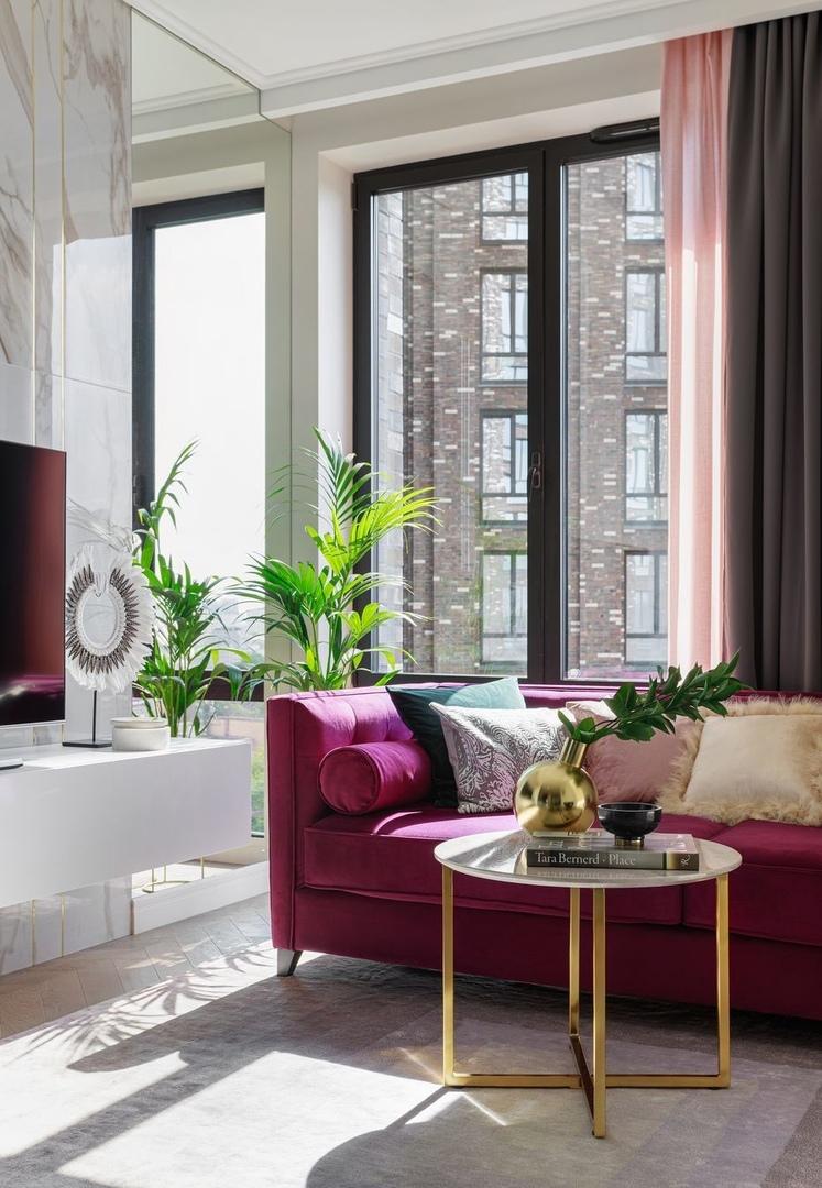 Маленькая и роскошная: квартира 42 кв.