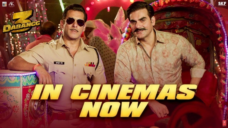 Dabangg 3 In Cinemas Now Salman Khan Sonakshi Saiee Arbaaz Prabhu Deva 20th Dec'19